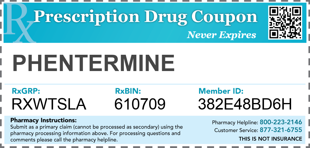 Phentermine coupons printable